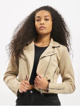 Only Lightweight Jacket onlSherry Crop beige