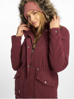 Only Manteau hiver onlNew rouge