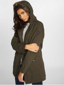 Only Manteau onlAmy olive