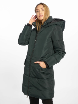 Only Manteau onlElin Long Nylon vert