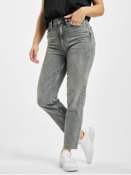Only Mom Jeans onlEmily Life High Waist Noos  grey