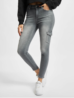 Only Pantalon cargo Onlblush gris