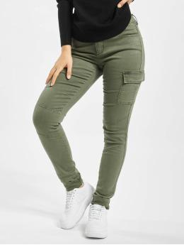 Only Pantalon cargo onlCece-Bibi Regular Skinny olive