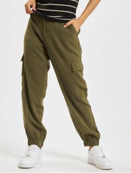Only Pantalon cargo onlAris Life Mid Waist olive