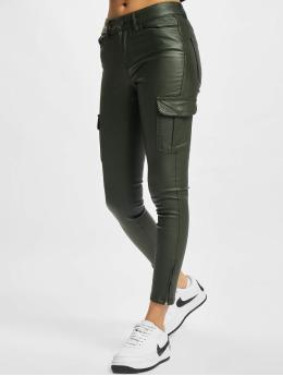 Only Pantalon cargo Anne NYA vert