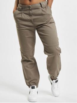 Only Pantalon chino nlEsta-Joline brun