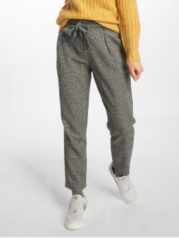 Only Pantalon chino onlLive Nive HW Paperbag gris