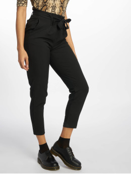 Only Pantalon chino onlNicole Paperbag noir