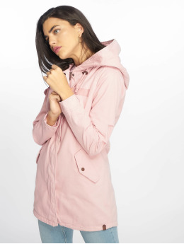 Only Parka onlMay Spring rosa