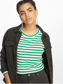 onlfBrave Jersey Longsleeve Cloud Dancer/Stripes Jolly Green