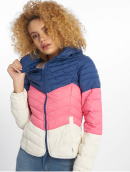 Only Puffer Jacket onlDemi Blocked blau