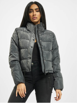 Only Puffer Jacket onlKelly Short Puffer grau