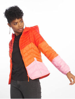 Only Puffer Jacket onlDemi Blocked orange
