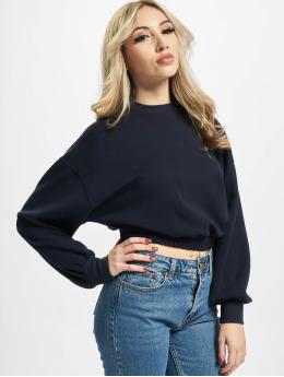 Only Pullover Onlscarlett Cropped  blau