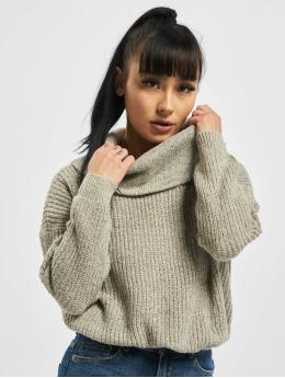 Only Pullover onlNia Rollneck Knit Noos grey
