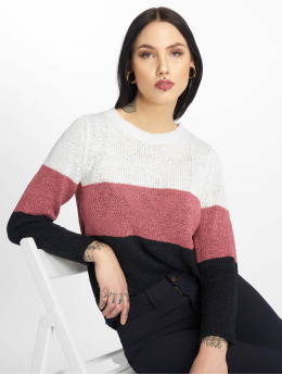 Only Pullover onlGeena Block Noos white