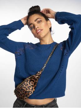 Only Puserot onlMaga Lace Knit sininen