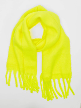 Only Scarve / Shawl onlEmma Solid Heavy Brushed Woven yellow