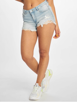 Only Shorts onlCarmen Regular Lace blau