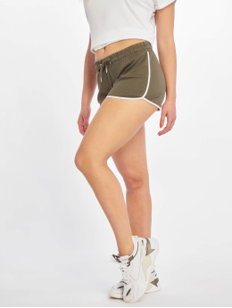 Only Shorts onlCami  grün