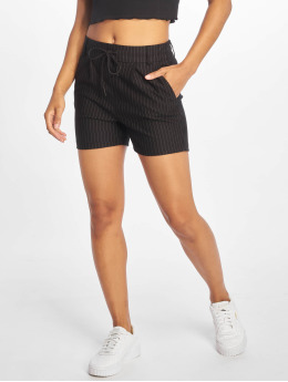 Only shorts onlPoptrash Classic Pinstripe zwart