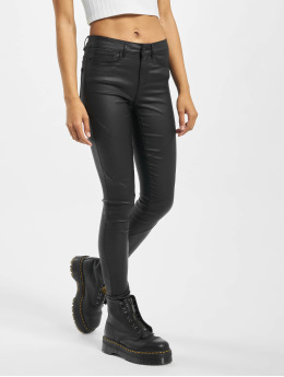 Only Skinny Jeans onlAnne K Mid Waist čern