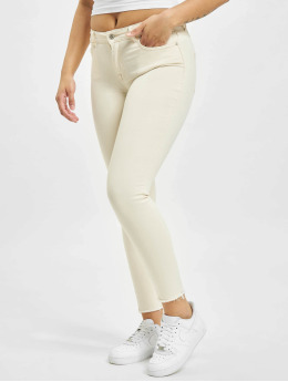 Only Skinny Jeans onlBlush Mid Ankle Raw BB DOT019 bezowy