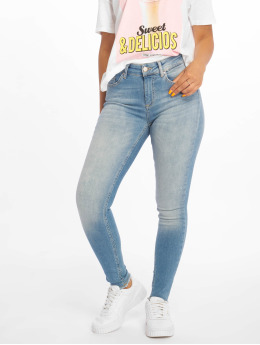 Only Skinny jeans onlBlush Mid Ankle Raw blå
