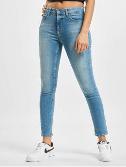 Only Skinny Jeans onlHush Life Mid Ankle DOT473 blå