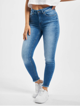 Only Skinny jeans onlBlush Life Mid Ankle Raw Noos blauw
