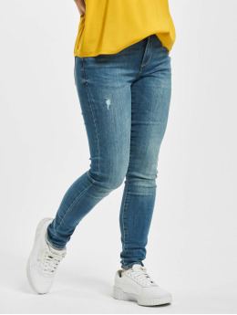 Only Skinny Jeans onlWauw Life Mid Noos blue