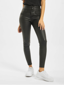 Only Skinny Jeans onlCoral Corsage Rock Coated czarny