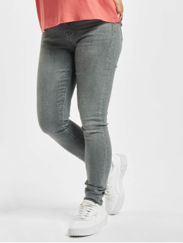 Only Skinny Jeans onlPaola Life High Waist Noos grau