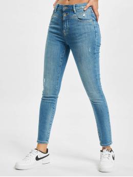 Only Skinny Jeans onlChrissy Life High Waist Ankle BB TAI691 niebieski