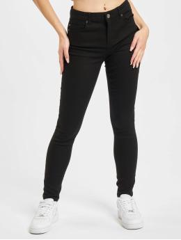 Only Skinny jeans Midankle Pushup svart