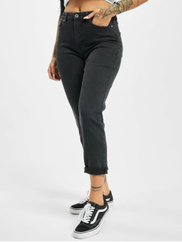 Only Skinny jeans onlErica Life Mid St Ankle zwart