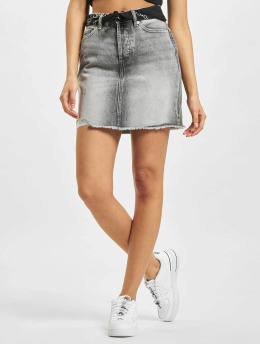 Only Skirt onlFine High Waist Life grey