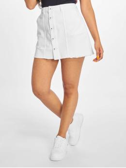 Only Skirt onlAnis Mini Block white