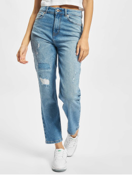 Only Slim Fit Jeans Onlemily Repaired blå