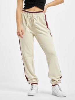 Only Spodnie do joggingu onlRia Long  bezowy