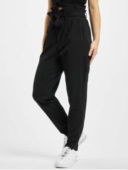 Only Spodnie wizytowe onlPheobe Papberbag  czarny