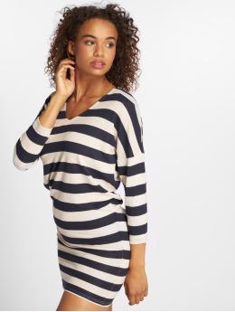 Only Sukienki onlMaye 3/4 V-Neck niebieski