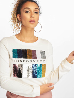 Only | onlSound Glitter Box blanc Femme Sweat & Pull