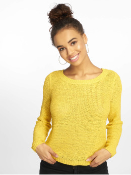 Only Sweat & Pull onlGeena Xo Noos Knit jaune