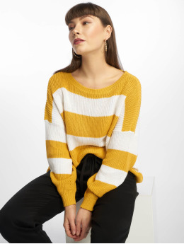 Only Sweat & Pull onlCampos jaune