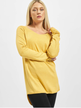 Only Sweat & Pull onlMila Lacy jaune
