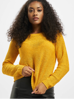 Only Sweat & Pull onlGeena XO Knit Noos jaune
