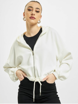 Only Sweat capuche zippé onlScarlett  blanc