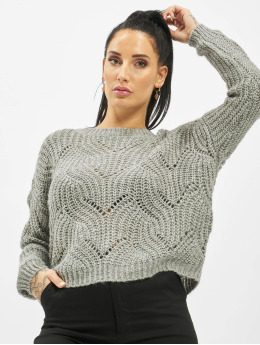 Only Swetry onlHavana Knit NOOS szary