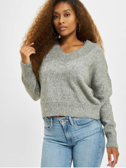 Only Swetry onlMika Knit Sweater szary